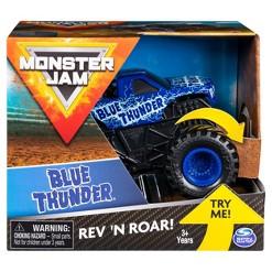 Monster Jam 1:43 Rev & Rumble Trucks Assortment - Blue Thunder