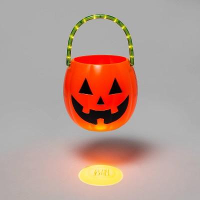 Lit Pumpkin Trick or Treat Halloween Pail - Hyde & EEK! Boutique™
