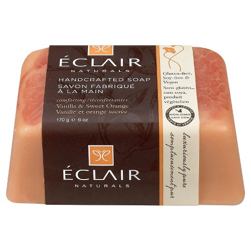 Eclair Naturals Handcrafted Bar Soap Vanilla & Sweet Orange 6 oz - image 1 of 1