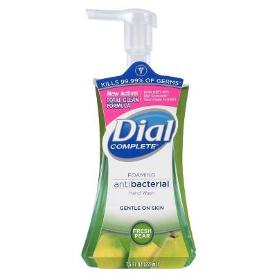Dial Foaming Hand Soap - Fresh Pear 7.5 fl oz