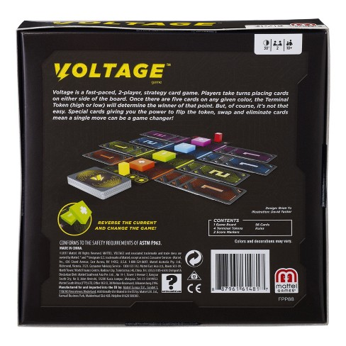 Voltage Card Game Target