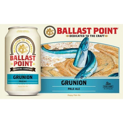 9a51a96f2 Ballast Point Grunion Pale Ale - 6pk   12 Fl Oz Cans   Target