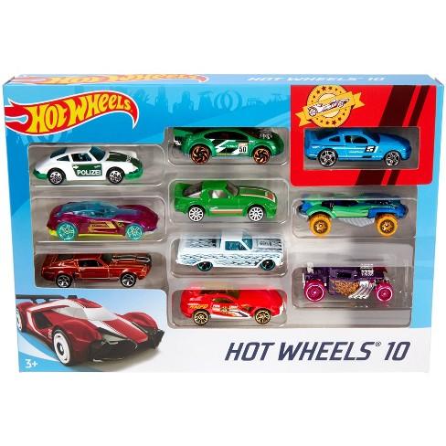 Hot Wheel Multipack 10 Vehicles Styles May Vary Target