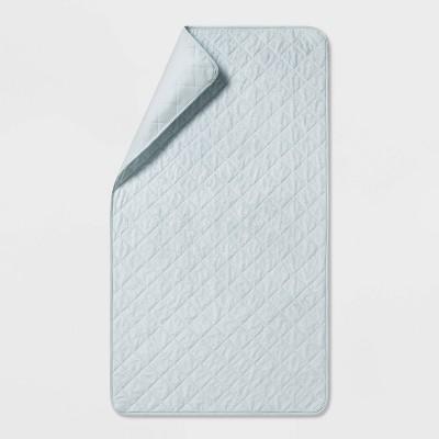 Twin Waterproof Sleep Anywhere Pad Gray - Pillowfort™