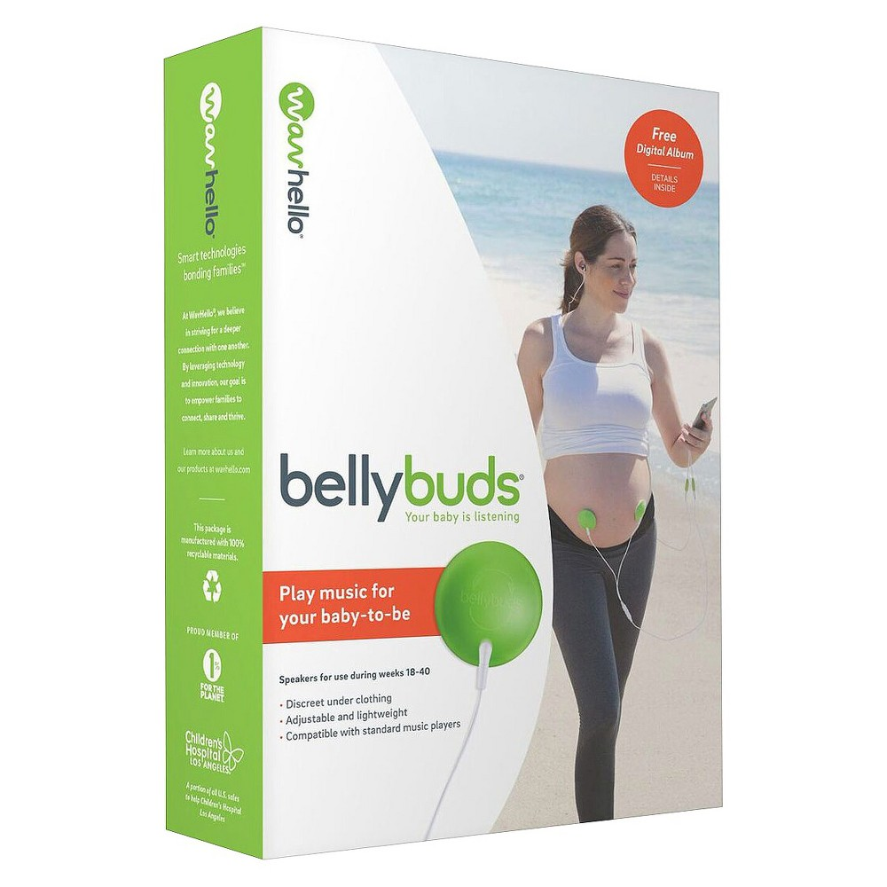 Image of Bellybuds Deluxe Baby-Bump Sound System