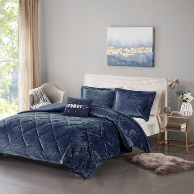 Alyssa Velvet Duvet Cover Set