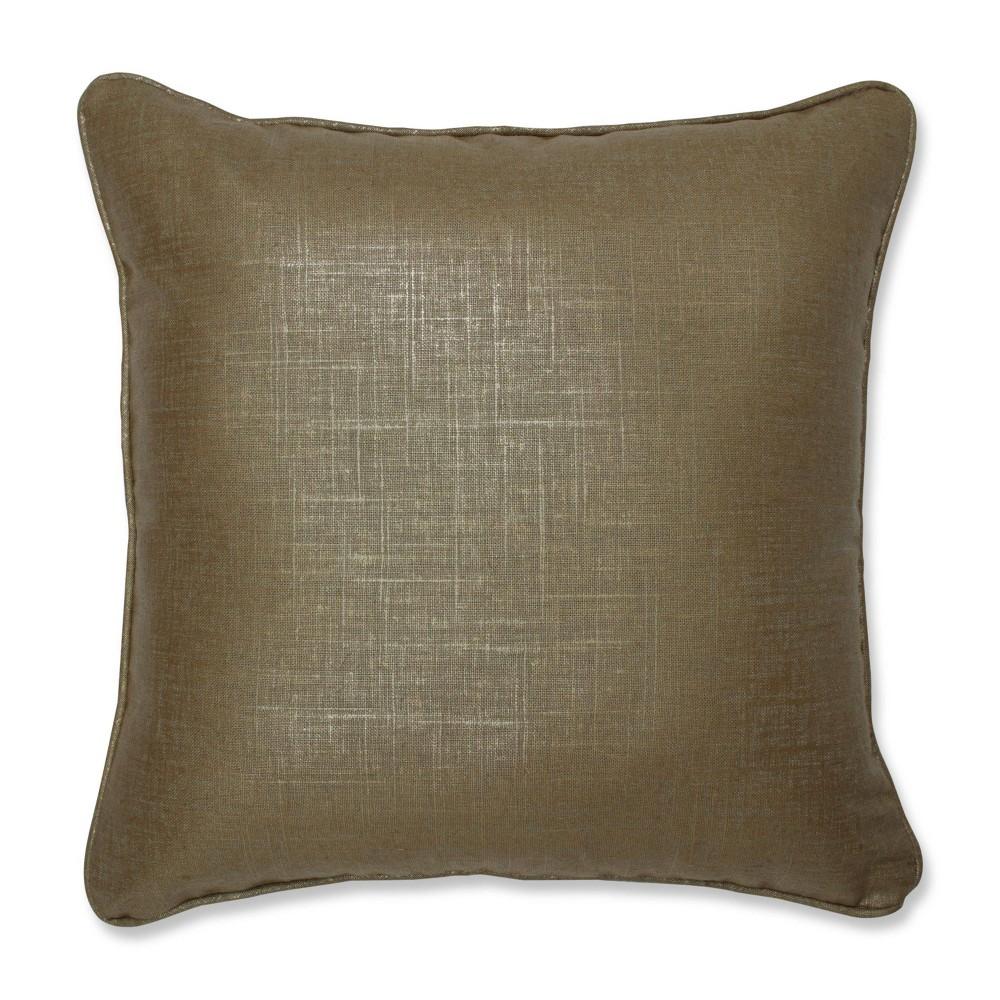 Alchemy Linen Copper Throw Pillow Copper Pillow Perfect