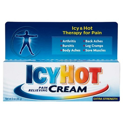 Pain Relievers: Icy Hot Cream