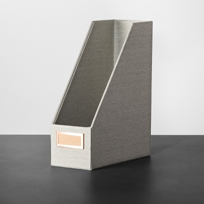 Magazine File Holder - Gray Marble - Hearth & Hand™ with Magnolia