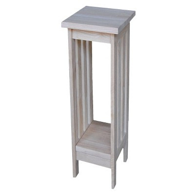 """Mission Plant Stand Unfinished 30"""" - International Concepts"""