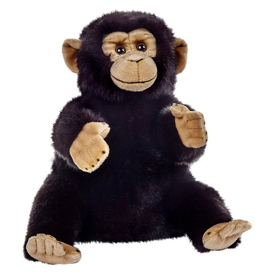 Lelly National Geographic Chimpanzee Hand Puppet image number null