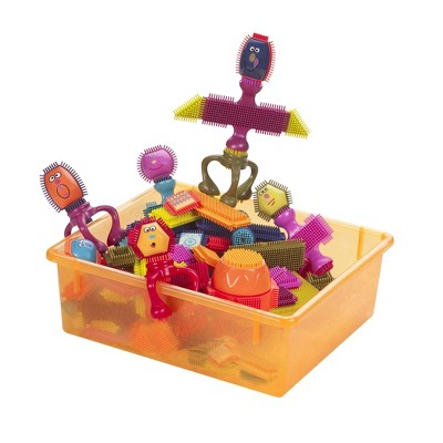 B. toys Bristle Blocks Set - Spinaroos