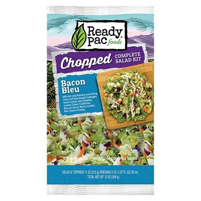Ready Pac Bacon Bleu Chopped Salad Kit - 13oz
