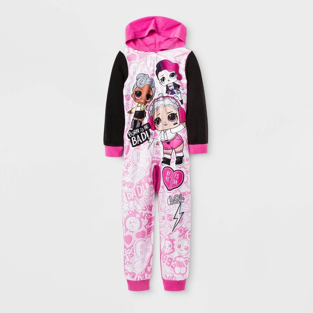 Girls LOL Surprise Union Suit Pink XS