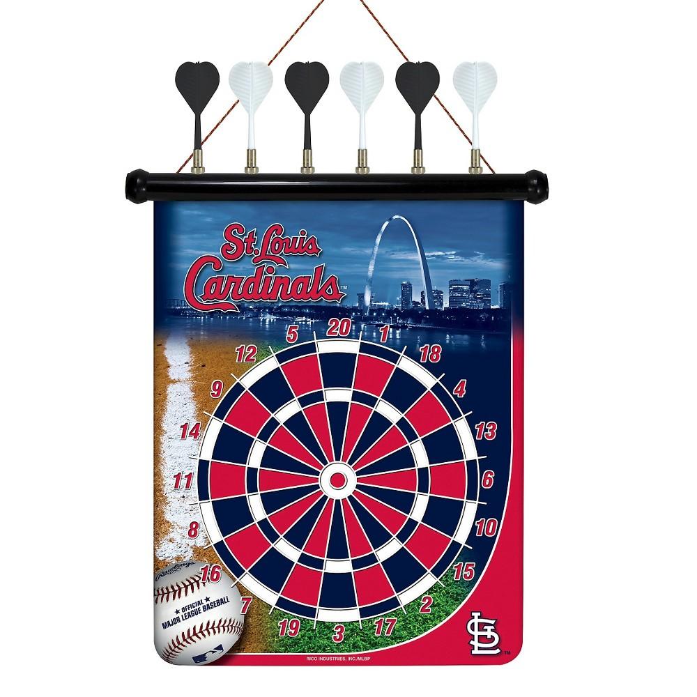 MLB Magnetic Dart Set St. Louis Cardinals
