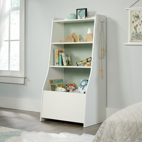 Pinwheel Bin Bookcase Soft White - Sauder - image 1 of 6