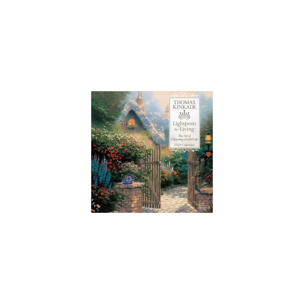Thomas Kinkade Lightposts for Living 2020 Calendar - (Paperback)