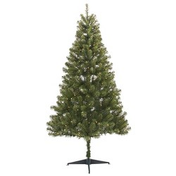 6ft Pre-lit Artificial Christmas Tree Alberta Spruce Clear Lights - Wondershop™