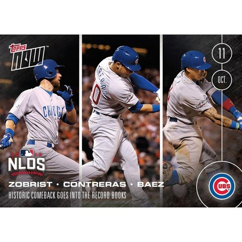 MLB Chicago Cubs Zobrist, Baez, Contreras #571 Topps NOW Trading Card - image 1 of 1
