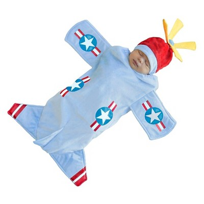 Baby Bennett Bomber Bunting Costume Blue 0 6 M by 6 M