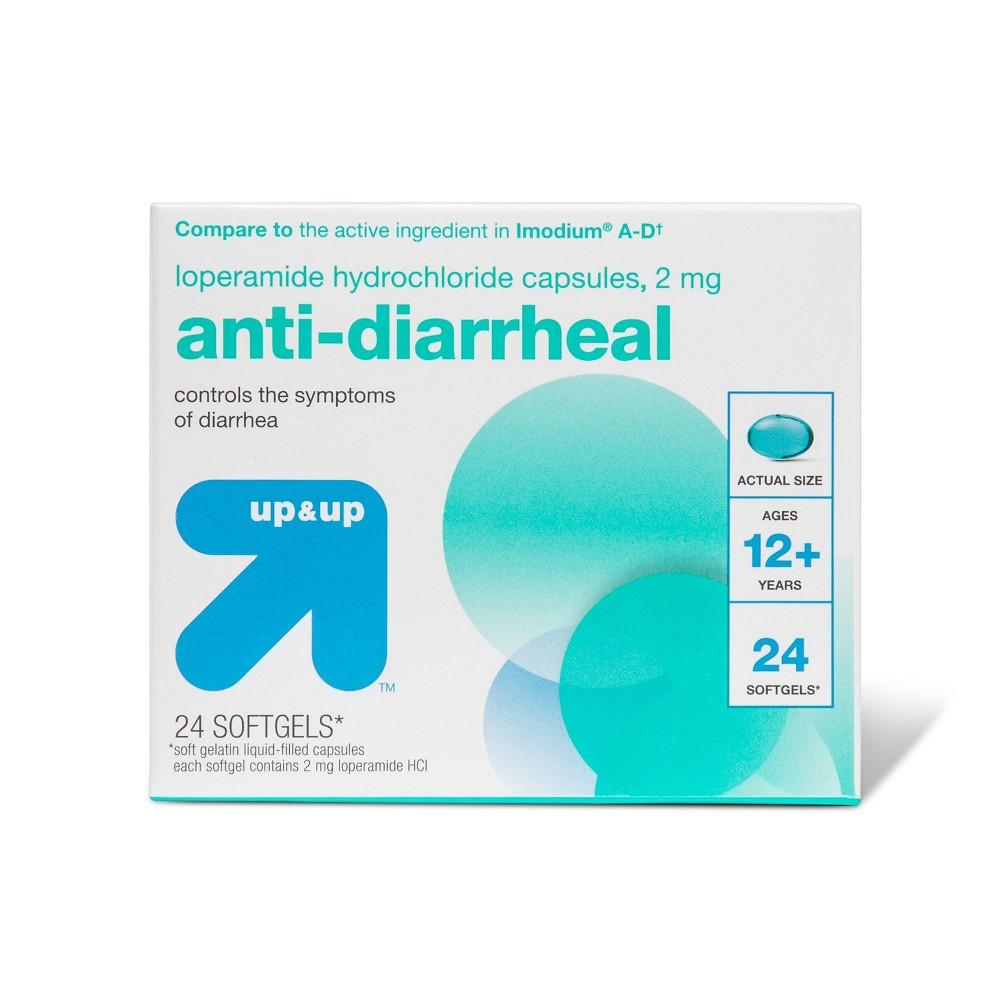 Anti Diarrheal Softgels 24ct Up 38 Up 8482