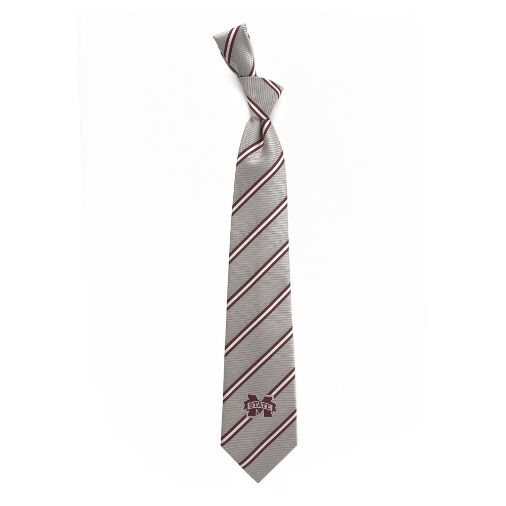 Ncaa Mississippi State Bulldogs Eagles Wings Stripe Two Necktie