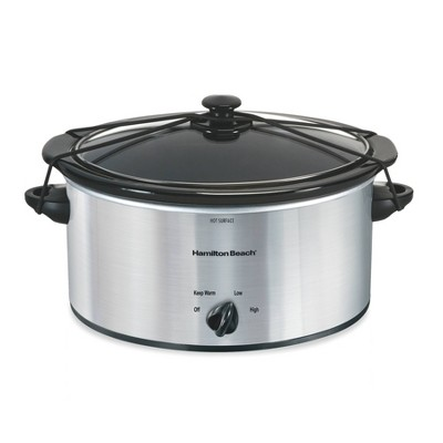 Hamilton Beach 5qt Slow Cooker - Black