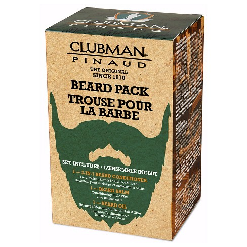 Clubman® Pinaud Beard Grooming Kit 3 In 1 - image 1 of 5
