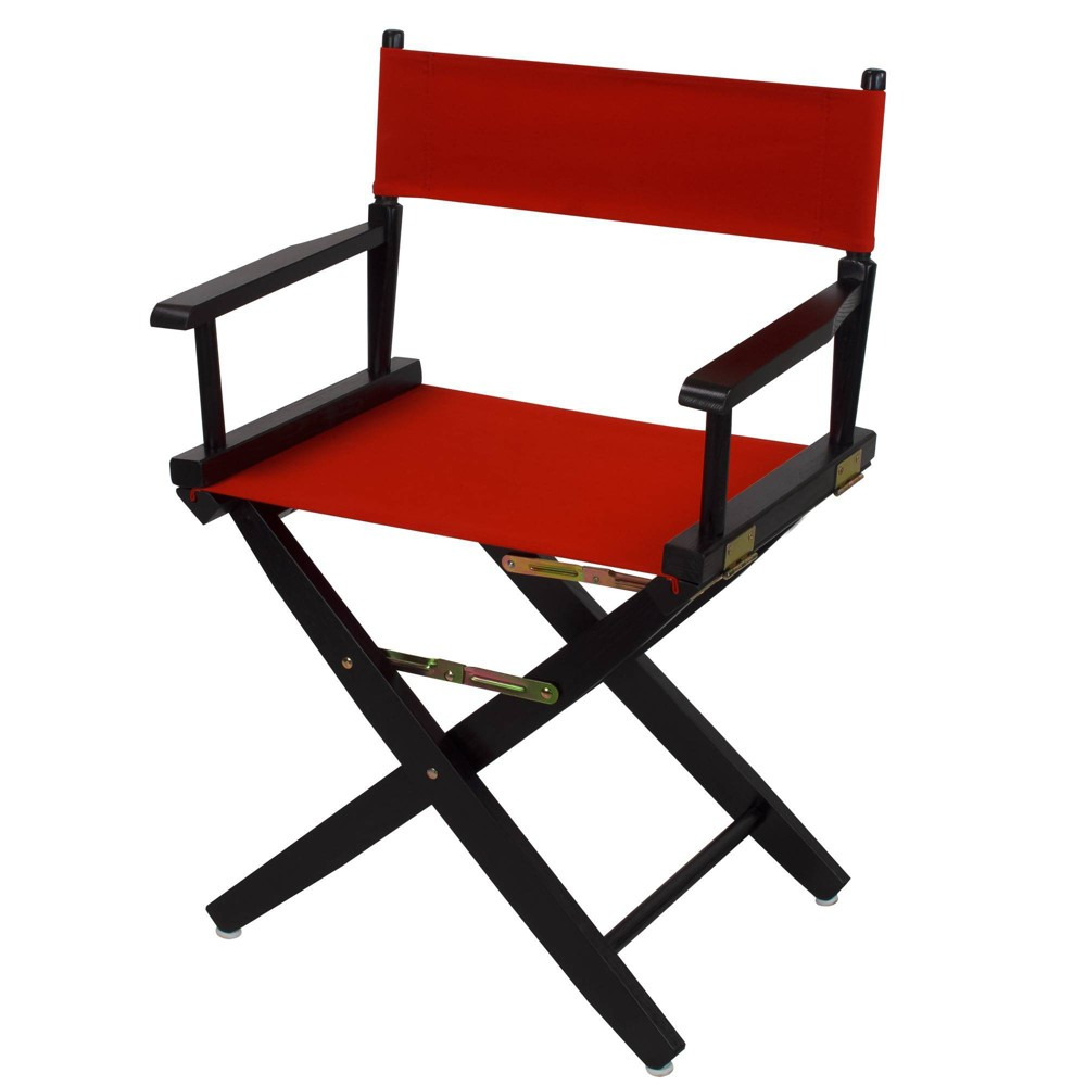 """Image of """"18"""""""" Extra Wide Directors Chair Red - Flora Home"""""""