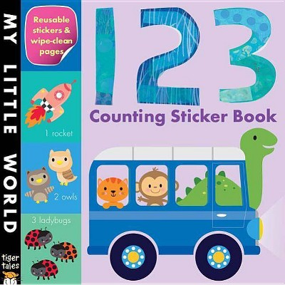 123 Counting Sticker Book Juvenile Fiction by Tiger Tales (Paperback)
