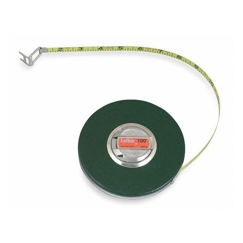 """CRESCENT LUFKIN HW223 3/8"""" x 50' Banner® Yellow Clad Tape Measure - image 1 of 1"""