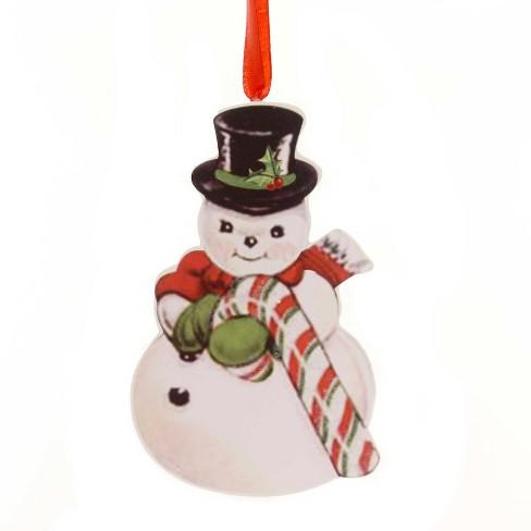 Bethany Lowe Christmas Ornaments.Bethany Lowe 4 5 Retro Christmas Dummy Board Reindeer Snowman Santa