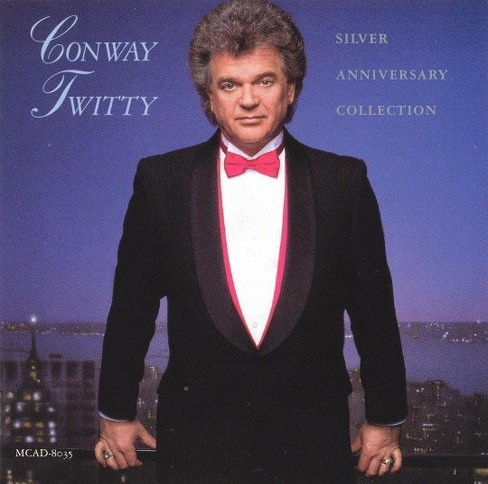 Conway twitty - Silver anniversary collection (CD) - image 1 of 4