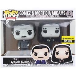 Funko Addams Family Funko POP Vinyl Figures - Black & White Morticia & Gomez