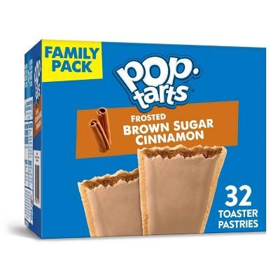 Pop Tarts Brown Sugar Cinnamon - 32ct/54.1oz - Kellogg's