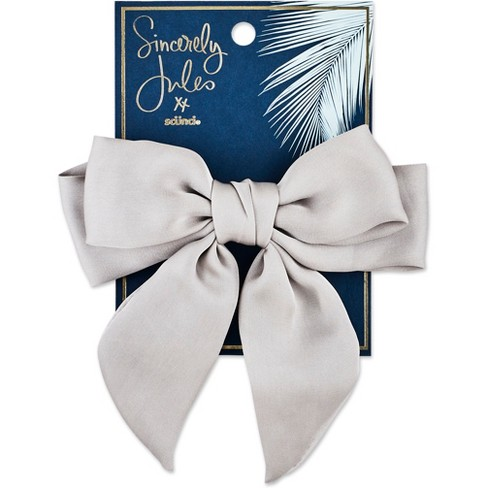 Sincerely Jules by Scnci Satin Bow Barrette - image 1 of 3