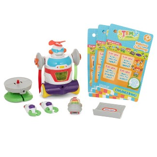 Little Tikes STEM Junior Builder Bot with 4 Hands - on Experiment