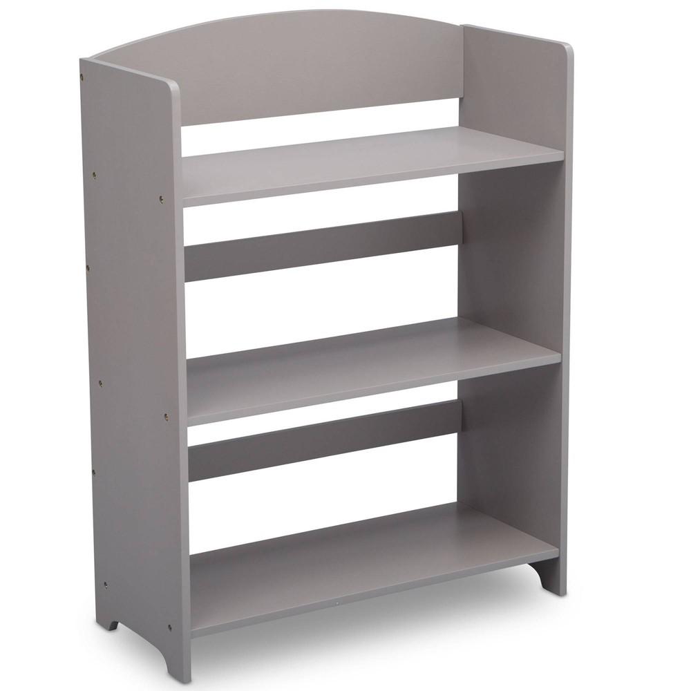 Delta Children Mysize Wood Bookshelf Gray