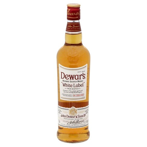 Dewar's White Label Blended Scotch Whisky - 750ml Bottle - image 1 of 1