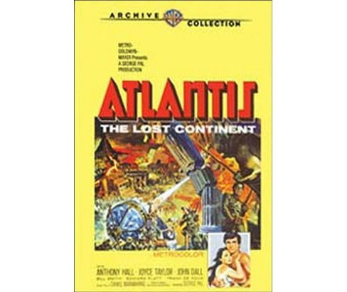 Atlantis the lost continent (DVD) - image 1 of 1