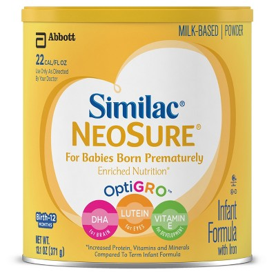 Similac NeoSure Infant Formula Powder with Iron - 13.1oz