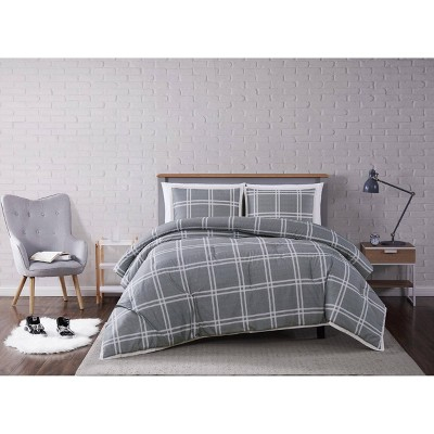Truly Soft Everyday Leon Plaid Comforter Set