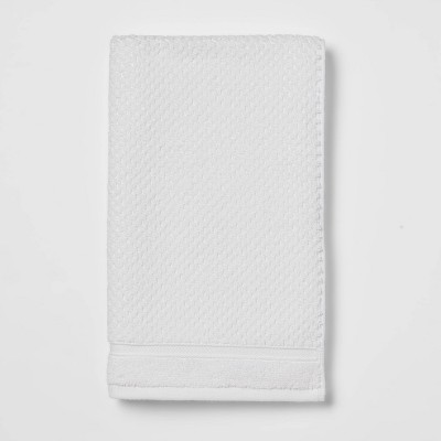 Performance Hand Towel White Texture - Threshold™