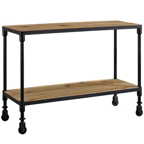 Raise Wood TV Stand Brown - Modway - image 1 of 4