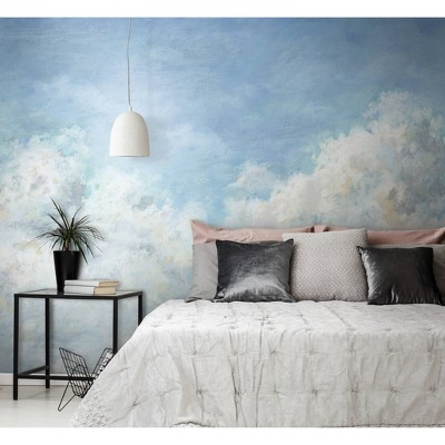 In the Clouds Peel and Stick Wallpaper Mural - RoomMates