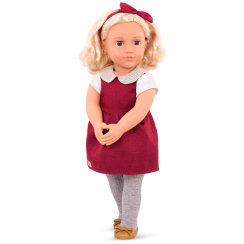 Our Generation Regular Doll with Sparkly Collar - Ivory - image 1 of 2