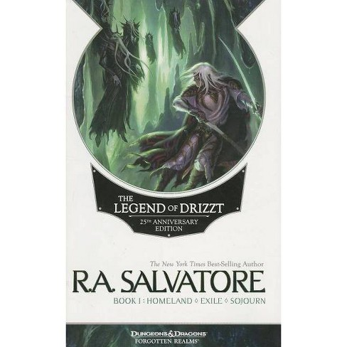The Legend of Drizzt 25th Anniversary Edition, Book I - 25 Edition by  R A Salvatore (Paperback) - image 1 of 1