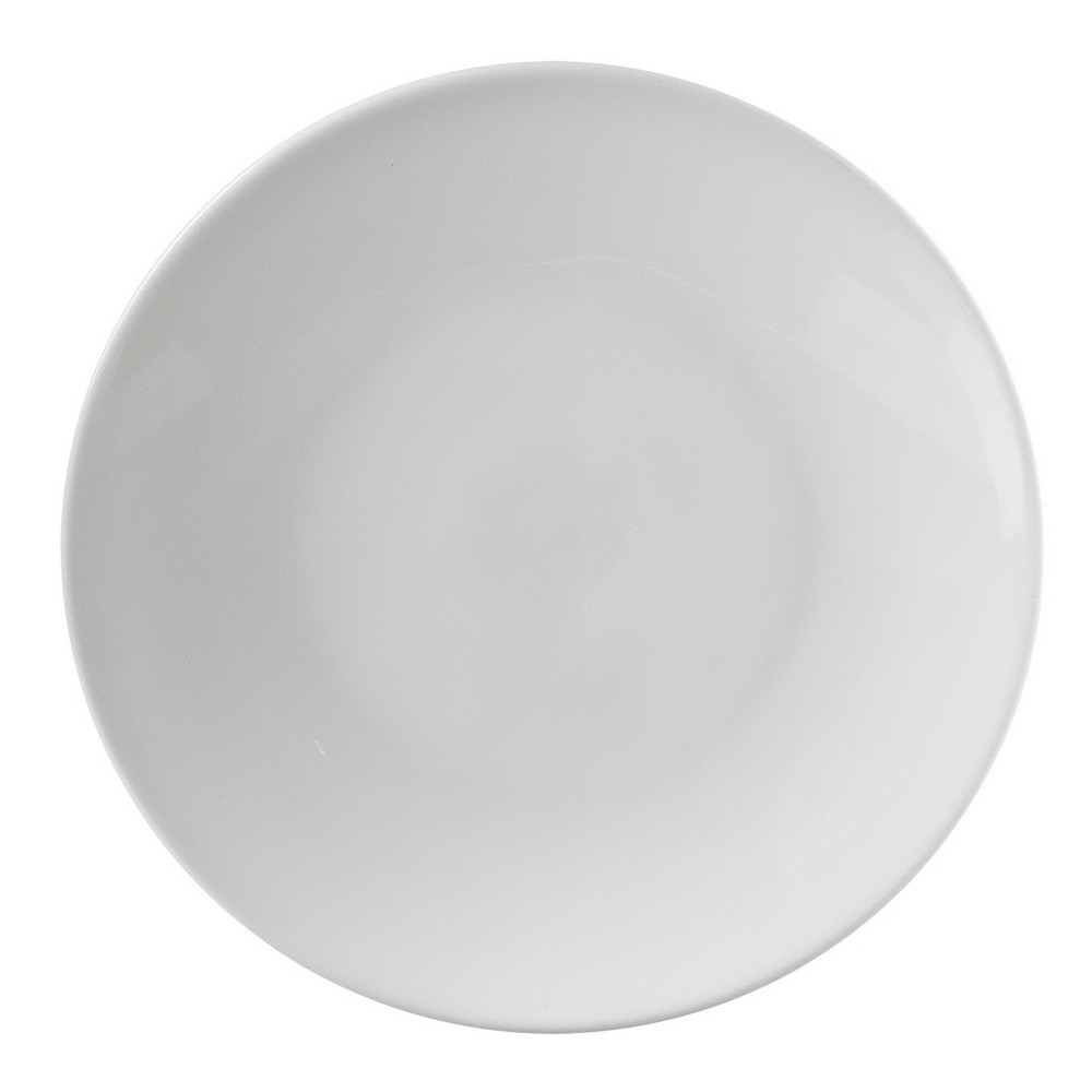 """Image of """"10 Strawberry Street Classic Coupe Porcelain Salad Plate 7.63 """""""" White - Set of 4"""""""