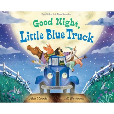 Good Night, Little Blue Truck - (Little Blue Truck)by Alice Schertle (School And Library)