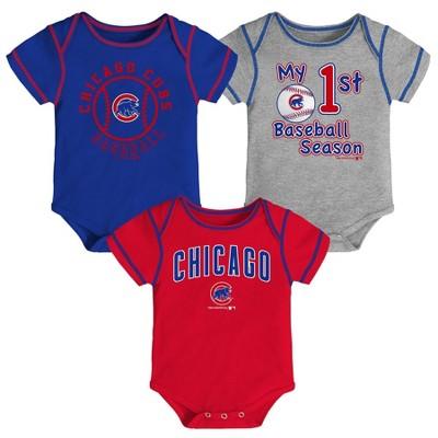 MLB Chicago Cubs Boys' Bodysuit - 6-9M